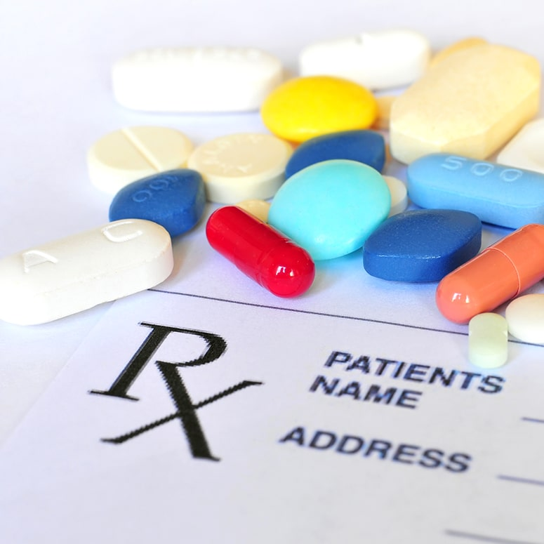 How medications are usually prescribed